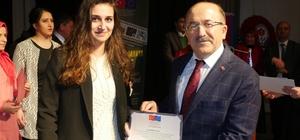 """Trabzon'da """"Okuldan Hayata"""" projesinin kapanış toplantısı gerçekleştirildi"""