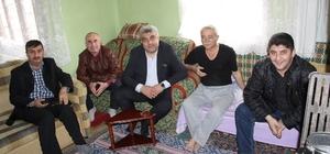 Hisarcık belediye başkanı Çalışkan'dan hasta ziyareti