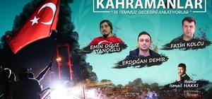 """""""Tecrübe Konuşuyor Kahramanlar"""" programı Sinop'ta"""