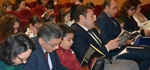 Başsavcı ve Milli Eğitim Müdürü çocuklar ile kitap okudu
