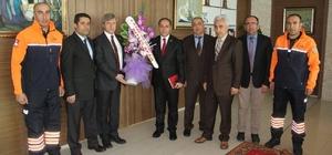 AFAD'dan Belediye Başkan Vekili Çınar'a ziyaret