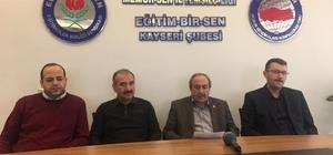"""Eğitim Bir Sen Kayseri Şube Başkanı Kalkan, """"28 Şubat Ürettiği Mağduriyetler Giderildiğinde Sona Ermiş Olacak"""""""