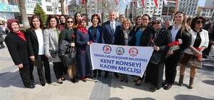 Denizli Kadın Meclisi'nden Kadınlar Günü etkinlikleri