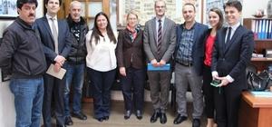 AB Konsolos temsilcileri KGD'yi ziyaret etti