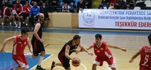 Erzincan Gençlik Basketbol Spor Kulübünden farklı galibiyet