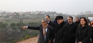 Başkan Köşker, Macera Parkında çalışmaları inceledi
