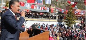"""Tuna: """"1 Mart, Arslanköy'ün kurtuluşu olarak tarihe altın harflerle yazılmıştır"""""""