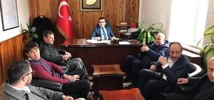 AK Partili Gider, Yenice'de muhtarlarla bir araya geldi