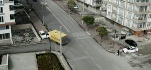 Kırşehir'deki trafik kazaları MOBESE kameralarında