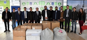 Bursa'dan Van'a yardım eli