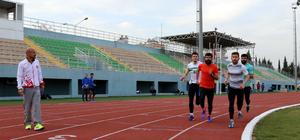 İşitme engelli milli atletlerin olimpiyat oyunları hedefi