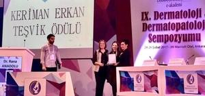 ESOGÜ Öğretim Üyesi Erdoğan'a Keriman Erkan Teşvik Ödülü