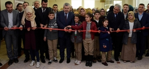 Körfez'de 28 Şubat resim sergisi açıldı