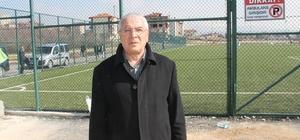 MASKF Başkanı Özdemir semt sahası eksikliğine dikkat çekti