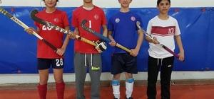 Hokey milli akım kampına Malatya'dan 4 sporcu davet edildi