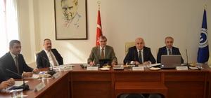 DOKAP Bölgesi Üniversiteler Birliği Üst Kurul Toplantısı KTÜ'de yapıldı