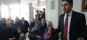 CHP İl Başkanı Kiraz'dan Doğanşehir'e ziyaret