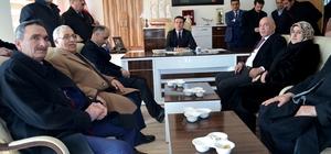 Milletvekili Ilıcalı Çat'ta ziyaretlerde bulundu
