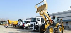 İnegöl Belediyesi araç parkurunu güçlendiriyor