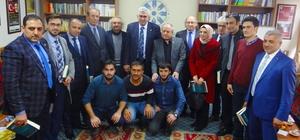 AK Parti İl Başkanı Öz, TYB Erzurum Şubesini ziyaret etti