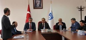 Karaman'da 112 acil çağrı merkezi koordinasyon kurulu toplandı