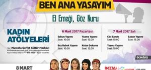 Mart ayı Ataşehir'de sıcacık geçecek