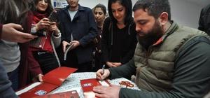 Taha Ün, Tokat'ta gençlerle buluştu
