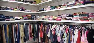 Gönül Pınarı 3 yılda 104 bin parça kıyafeti ihtiyaç sahiplerine ulaştırdı