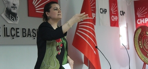 Milletvekili Hürriyet, Gebze ve Darıca'da kadınlarla buluştu