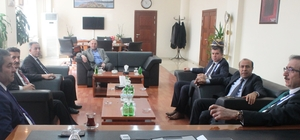 Defterdar Durusoy'dan Van TSO'ya ziyaret