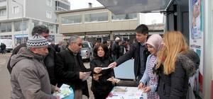 Ahlat'ta Kanser Haftası etkinliği