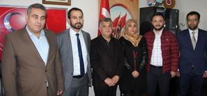 AK Parti'den MHP İl Başkanlığına ziyaret