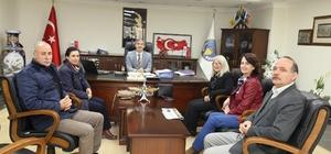 Yaşam-Der yeni yönetiminden Başkan Şirin'e ziyaret