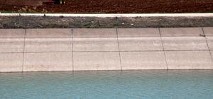 Bereketli topraklar suyla buluşturuldu