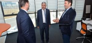 Başkan Polat, Malatya Teknokentin geleneksel sohbet toplantısına katıldı