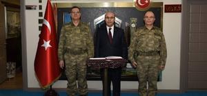 Jandarma Genel Komutan Yardımcısı Korgeneral İbrahim Yaşar'dan Vali Demirtaş'a ziyaret