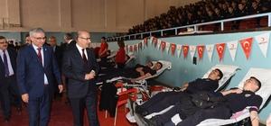 Polis adaylarından Kızılay'a kan bağışı