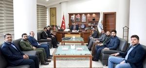 Başkan Çakır Genç ASKON yönetimini kabul etti