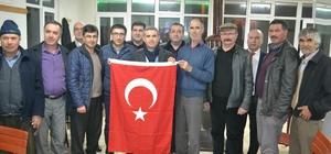 CHP'li Başkan Biçki'den Türk Bayraklı referandum ziyareti