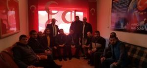 AK Parti Avanos teşkilatı MHP İlçe Başkanlığını ziyaret etti