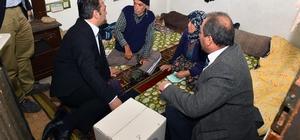 Büyükşehir'den Yumurtalık'taki dar gelirli ailelere gıda yardımı