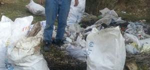 Duyarsız vatandaşlar çevreyi kirletiyor