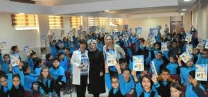 Yazar Şenkaya Akşehir'de öğrencilerle buluştu