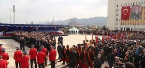Rize'nin düşman işgalinden kurtuluşunun 99. yıl dönümü törenle kutlandı