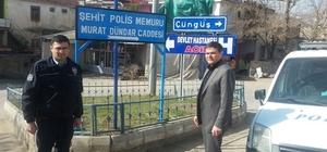 Şehit Polis Murat Dündar'ın adı Çermik'te yaşayacak