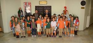 Başkan Acar, minik misafirlerini ağırladı