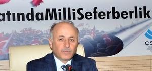 Vali Azizoğlu'dan Başkan Yücelik'e istihdam teşekkürü