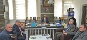 Başkan Şinasi Gülcüoğlu il ve ilçe kurum müdürlerini misafir etti