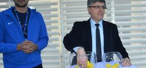 Bozüyük Belediyesi Kurumlar arası Voleybol Turnuvası'nda kuralar çekildi