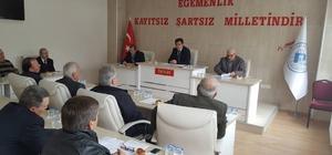 Pazaryeri Belediye Meclis Toplantısı yapıldı